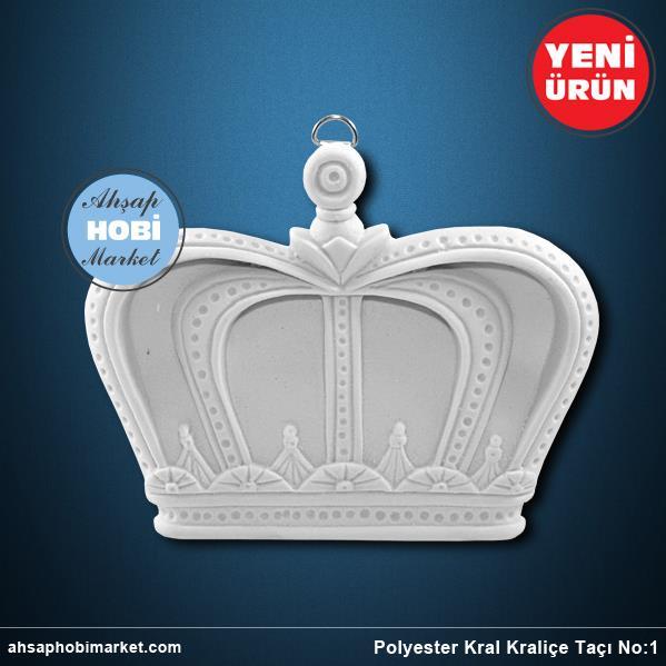 Polyester Kral Kralice Taci No 1 Ahsap Hobi Market