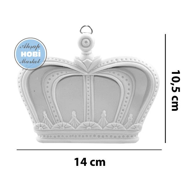 Polyester Kral Kraliçe Tacı No1 Ahşap Hobi Market