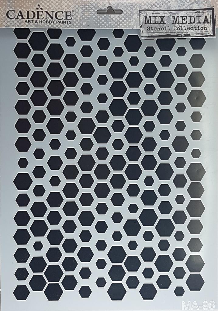 Bal Petegi Motifli Stencil Sablon 21x29cm Ma96 Ahsap Hobi Market