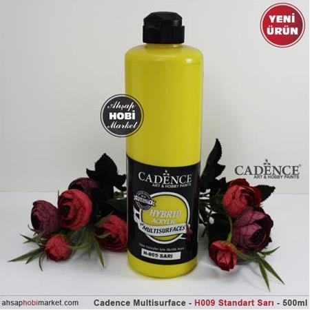 Cadence Multisurface Standart Sarı - H09 - 500 ml