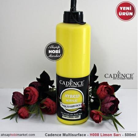 Cadence Multisurface Limon Sarı - H08 - 500 ml