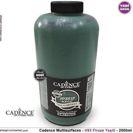 Cadence Multisurface Firuze Yeşili - H93 - 2000ml